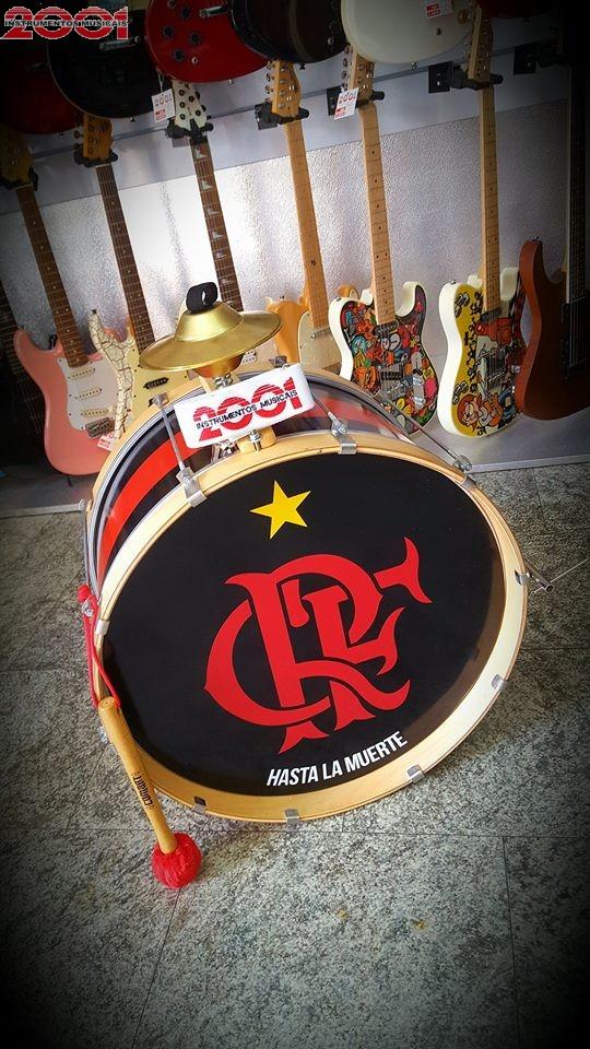 Bumbo de Murga 30 x 22 Flamengo